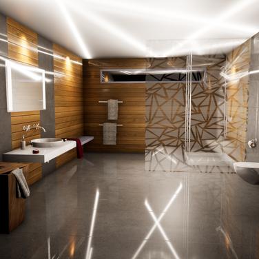 Resort Restroom Concept