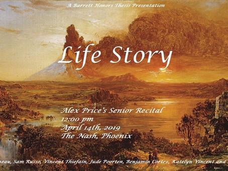 "Alex Price Presents ""Life Story"" at The Nash | 14 April 2019"