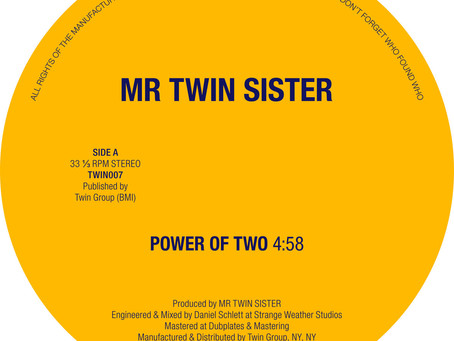 Power of Two By Mr Twin Sister