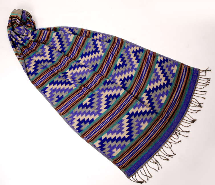 """Multicolor Aztec 30"""" x 72"""""""