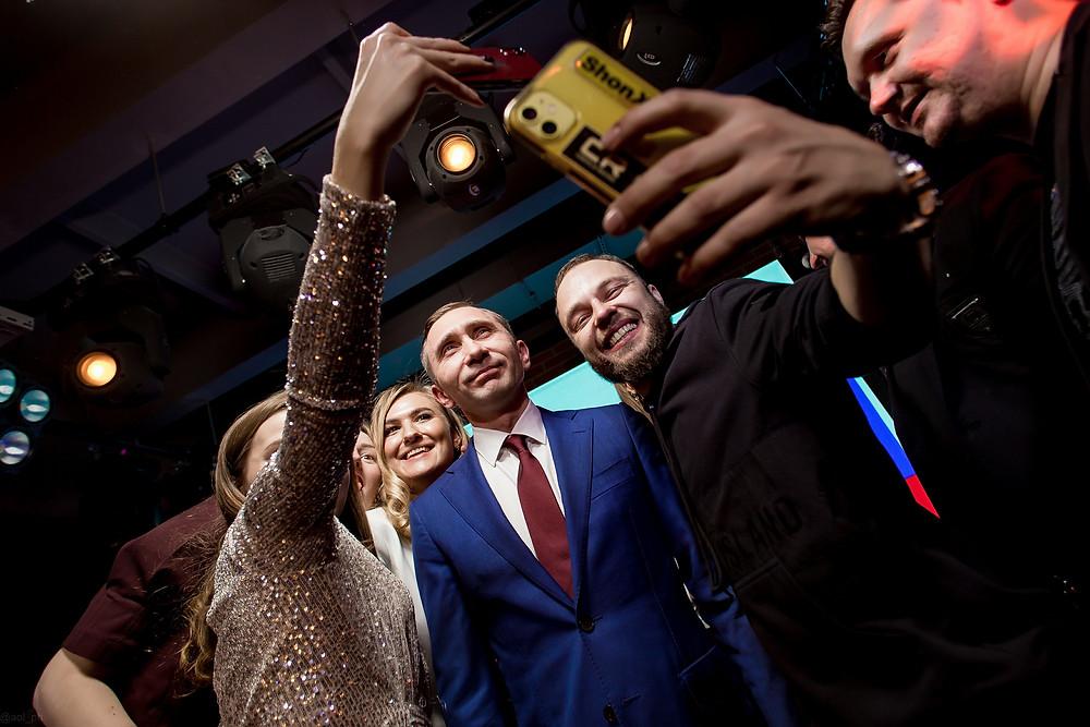 Дмитрий Грачев, двойник Путина на юбилее
