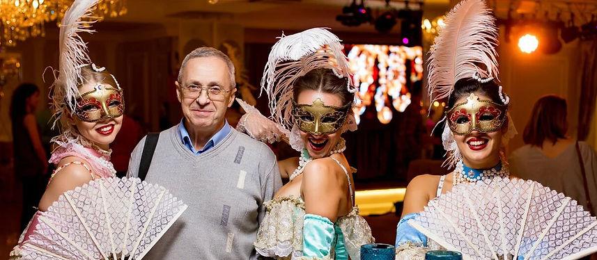 """""""Венецианский карнавал"""" - интерактивное иммерсивное шоу во дворце"""