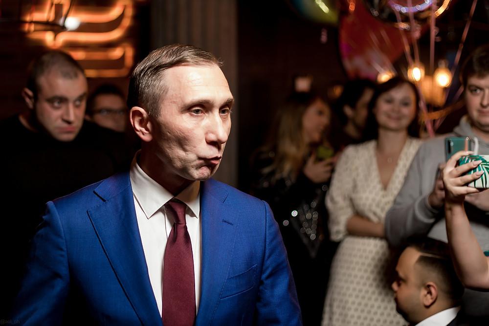 Дмитрий Грачев двойник Путина на юбилее Event-Театр