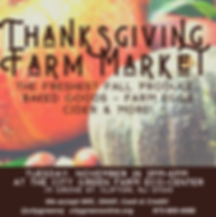 Thanksgiving Market Clifton Journal Ad 2