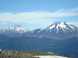 Volcanes Tolhuaca y Lonquimay