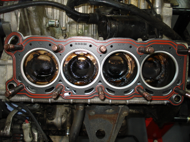 New head gaskets fitted