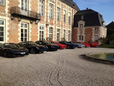 Emblem Burgundy Driving Tour