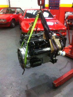Maserati Ghibli SS Engine