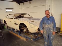 Maserati Ghibli SS Bodyshell