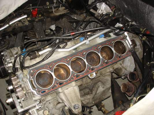 Head gasket fitted