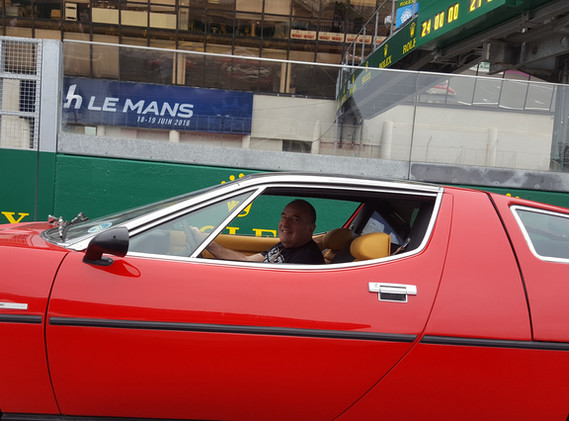 Bora at Le Mans