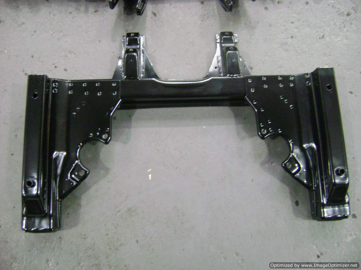 Front subframe after