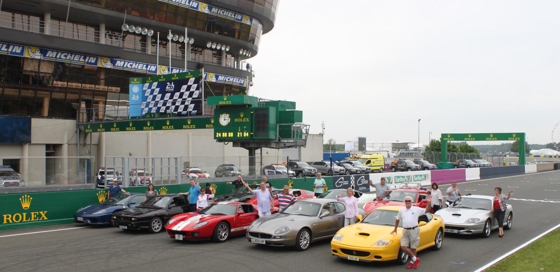 Laps of Le Mans