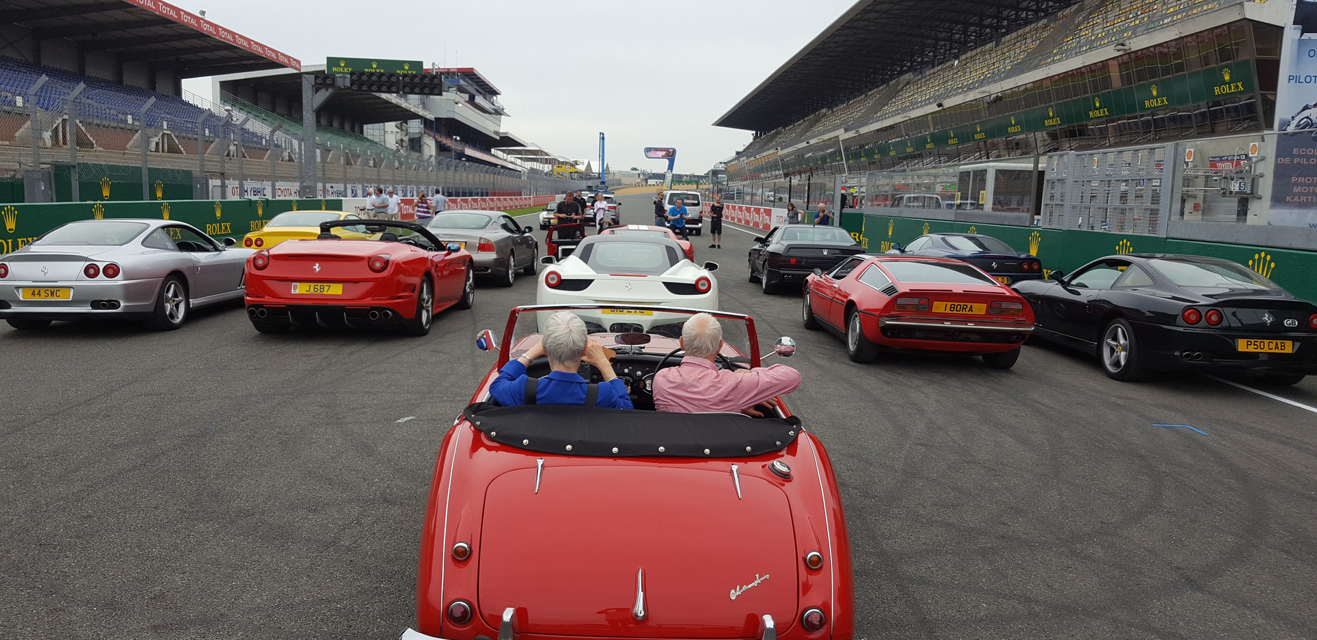 An Eclectic Mix of Cars