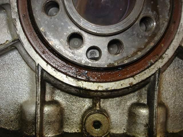 Rear main oil seal leaking