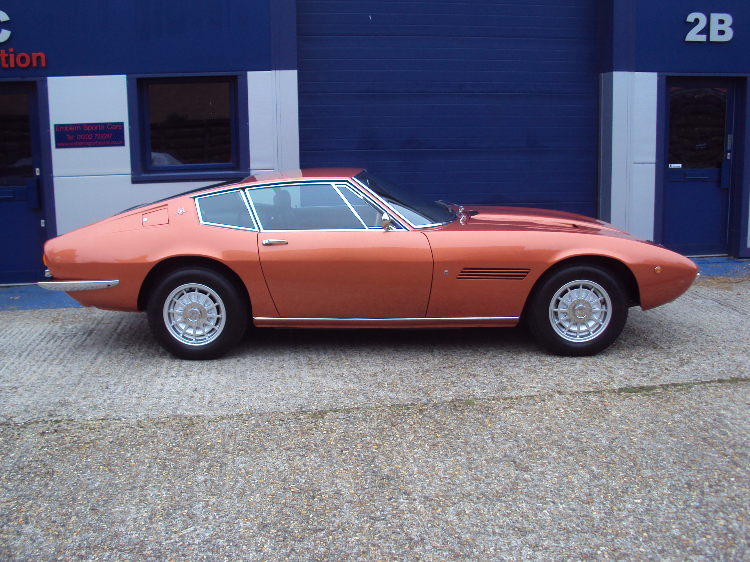 Maserati Ghibli SS Finished