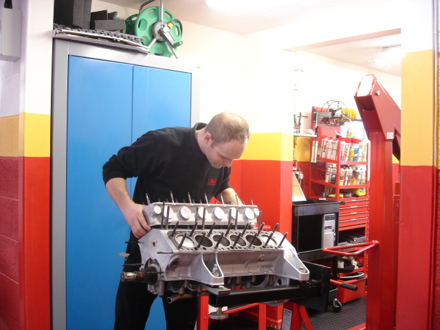 Rebuilding the engine