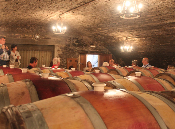 Tour of the Cellars