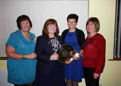 Lismore Ladies Foursomes winners and runners up 2015