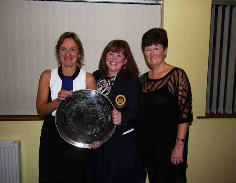 Lismore Ladies Singles winner and runners up 2015