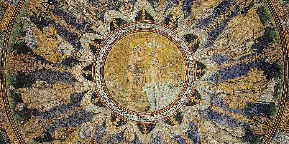 Ravenna Mosaics: Experience Christian Questions beautifully displayed before your very eyes!