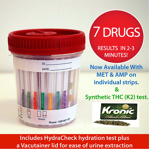 Eco 7 Urine Drug test - 1 x Single Test