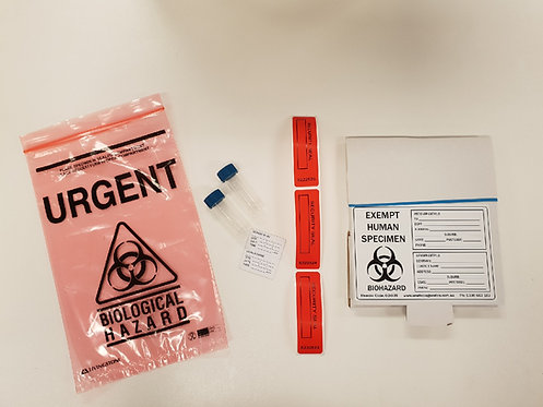Saliva Laboratory Confirmation Pack – Single Donor