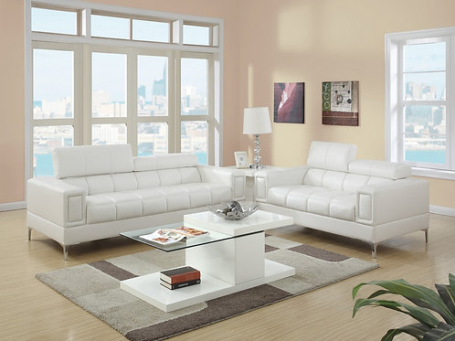 F7240 2Pc Sofa & Loveseat