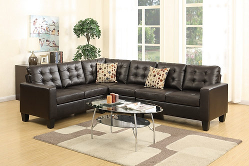 F6939 4Pcs Sectional Espresso