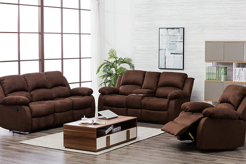 2Pc 20200 Reclining Set