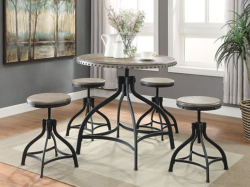 Kenneth Adjustable Dining Set