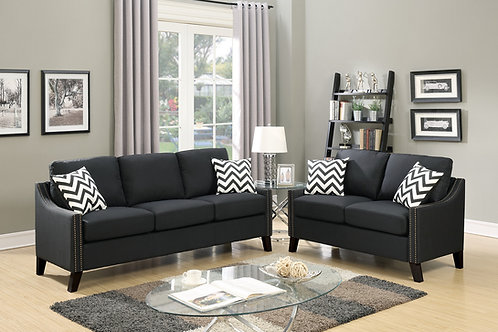 F6909 2Pc Sofa & Loveseat w/4 Pillows