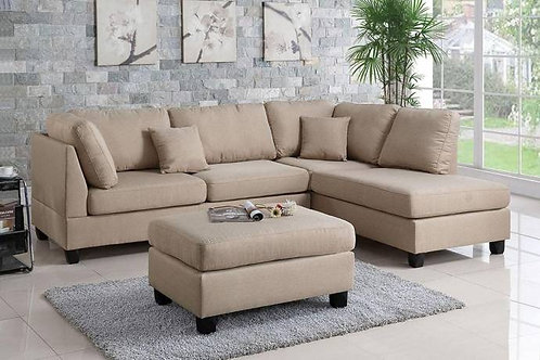 F7605 3Pcs Sectional Sand