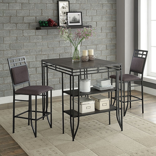 Matrix 3Pc CH Dining Set
