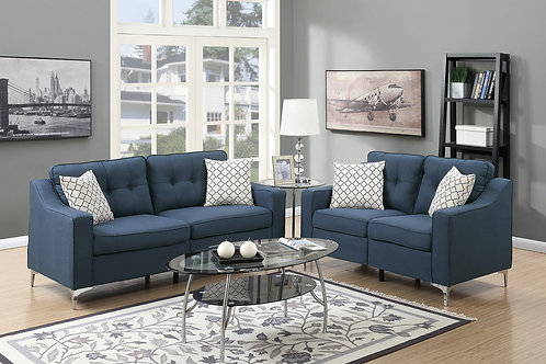 F6893 2Pc Sofa & Loveseat w/4 Pillows