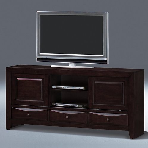 Emily Dark Cherry TV Stand