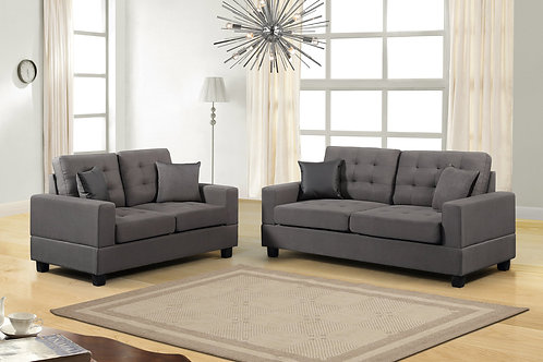 HH8855 2Pc Sofa & Loveseat