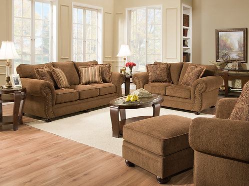 Simmons 4277 Sofa & Loveseat