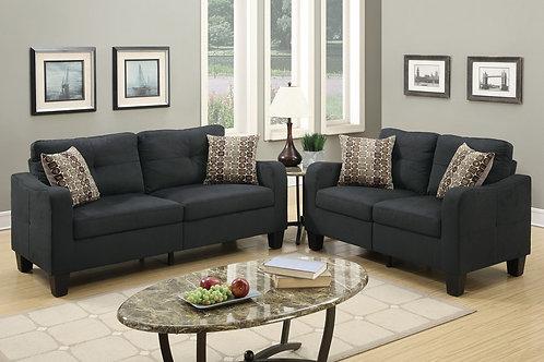 F6922 2Pc Sofa & Loveseat w/4 Pillows