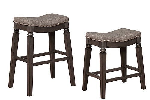 2 Farlin Grey Stools