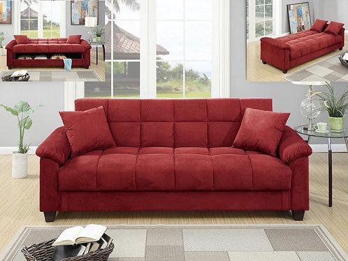 F7890 Red Adjustable Sofa