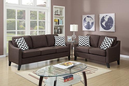 F6907 2Pc Sofa & Loveseat w/4 Pillows