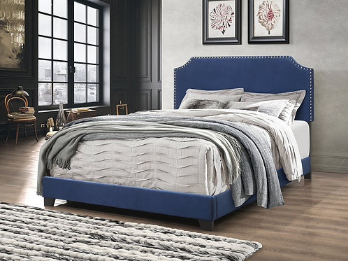 HH550 Blue Queen Bed