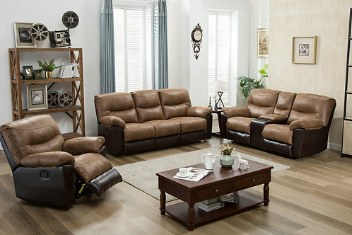 3Pc HH8507 Reclining Set