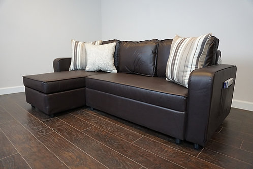Julia Sectional - Brown