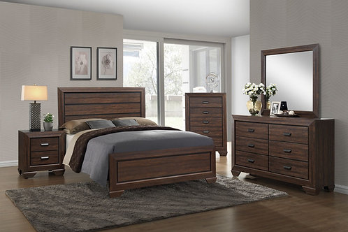 Farrow Chocolate Bedroom Set