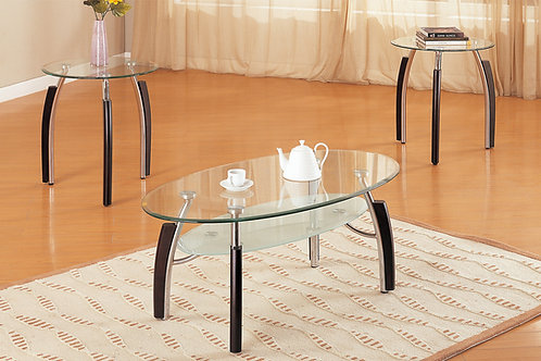 F3077 3Pc Coffee Table Set