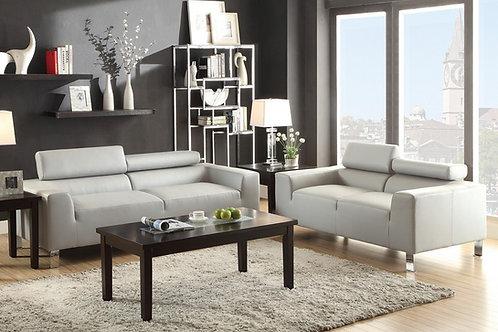 F7265 2Pc Sofa & Loveseat