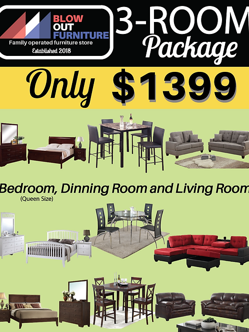 3 Room Package