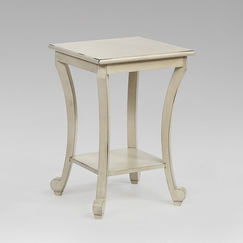 Claire Ivory ChairsideTable